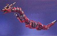 Roter Drache Donnerzord